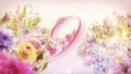 A 10-second countdown of glittering colorful spring flowers in full bloom 74454743