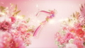 10-second countdown of glittering spring flowers 74454748
