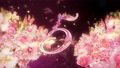 10-second countdown of glittering rose flowers 74454754