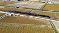 SL無限列車 鬼滅の刃、JR九州の鬼滅の刃コラボ列車の空撮 74652636