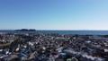Enoshima, Tsujido, Fujisawa City, Kanagawa Prefecture, Sagami Bay, aerial view 74683984