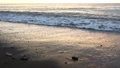 日落,海浪,沙灘,慢動作拍攝 74785525