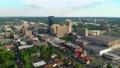 Aerial view of downtown Lexington, Kentucky 74804872
