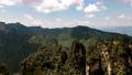 武陵源の壮大な大自然と巨大石柱のタイムラプス 74820622