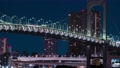 시간 경과 레인보우 브릿지 수도 고속도로 도쿄 도심 도쿄 미나토 구 고층 빌딩 심야 오후 바다 74973969