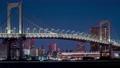 시간 경과 레인보우 브릿지 수도 고속도로 도쿄 도심 도쿄 미나토 구 고층 빌딩 심야 오후 바다 74973971