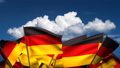Waving German Flags (seamless & alpha channel) 75011181