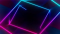 4K Abstract seamless looped animation of iridescent neon ray 75226194