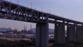 坂出側の瀬戸大橋をドローンで空撮③橋脚下 75229785