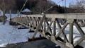 從大ide大橋的北側流向長野縣白馬村的大橋的姬川 75241190