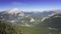 Take the Banff Gondola cable car in summer time. Banff National Park, Canadian Rockies. 75247903