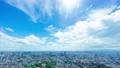 東京 大空タイムラプス 夏空 太陽フレア 六本木より目黒 大崎 横浜方面まで FIX 75285604