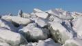 Impressive ice hummocks on Lake Baikal in Siberia, Russia 75305368