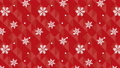 Loop animated background with snowflakes and geometric patterns 75356658