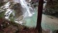 Tsukechi Gorge, Nakatsugawa City, Gifu Prefecture Kannon Falls with winter snow 75491360