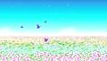 花場與蝴蝶側滾動 75599377
