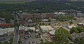 Woodstock Georgia Aerial v1 pan right shot of suburban neighborhood - Shot with Inspire 2, X7 camera - August 2020 75649126