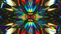kaleidoscope abstraction rotating sparkling shiny glass texture seamless loop. 3d render, 3d animation 75666948