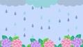 多雨的動漫視頻繡球 75687732