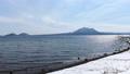 冬の支笏湖(タイムラプス撮影) 75719708