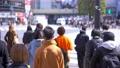 도쿄의 도시 풍경 시부야 스크램블 교차로를 오가는 사람들 75730829
