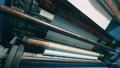 Bottom view of working paper converting machine 75767407