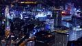 横浜タイムラプス みなとみらい方面から眺める横浜駅の夜景の街並み 75774146