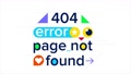 404 error, page not found 2D animation 75880102