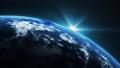 우주에서 본 회전하는 지구 75922341
