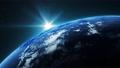 우주에서 본 회전하는 지구 75925252