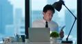businessman work hard in office 76039137