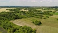 Beautiful rural summer landscape from a height in Russia 76053068