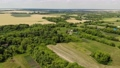 Beautiful rural summer landscape from a height in Russia 76053080