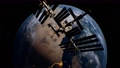 International Space Station in outer space over the planet Earth orbit 76189313