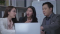 Business concept of 4k Resolution. Asian employees discussing in a meeting room. 76231519