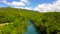 Loboc river in the jungle. Bohol, Philippines. 76247504