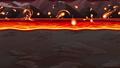 岩漿_熔岩海景視頻_側滾動遊戲背景_循環 76262108