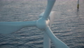 large offshore wind farm or wind park in the sea 76371519