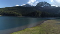 Aerial view of Black lake in Durmitor national park in Montenegro 76385335