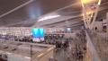 Phuket City New International Airport Terminal Panorama Slow Motion. 76388573