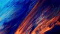 Fluid art. Macro Abstract color moving background close up 76404025