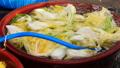 washing cabbage to make kimchi. 76418200