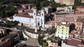 8 Drone View Of Spanish Steps Landmark In Rome Italy 76419473