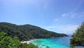 Beautiful tropical sea Amazing ocean sea at Similan Islands No.8 Similan Islands Beautiful island in Phang Nga, Thailand Nature and travel concept 76423286