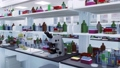Science medical research laboratory equipment 3D 76455707
