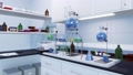 Research equipment in medical science laboratory 76455708