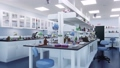 Empty science medical laboratory room interior 3D 76455710