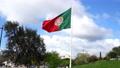 The Portuguese flag waving 76468791