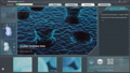 Medical microscopic virus cell, modern software app interface 76479825