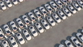 Electric car charging stations. Big parking. Loop video. 76494937